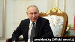 Владимир Путин, Орусиянын президенти. Архивдик сүрөт.