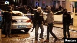 تصویری از محل انفجار بمبی در ماه ژانویه در استانبول