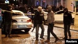 پلیس محلی که در آن حمله انتحاری انجام شده را مسدود کرده است