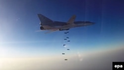 Ресейдің Сирия территориясын бомбалап жүрген Ту-22М3 ұшағы. 16 тамыз 2016 жыл.