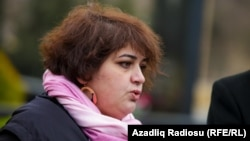 Khadija İsmayilova (file photo)