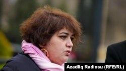 Azerbaijan. Baku. Journalist Khadija İsmayil