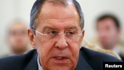 Сергей Лавров, Ресей сыртқы істер министрі.