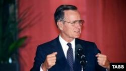 Президент Буш в Москве, 1991 год