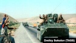 خروج نیروهای شوروی سابق از افغانستان. 1988
