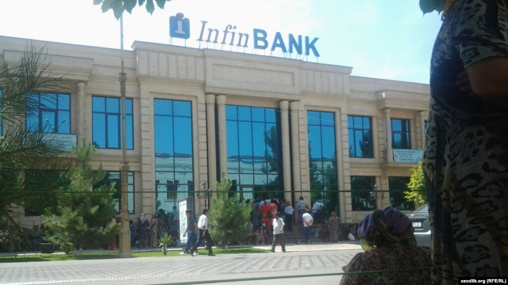 Infinbank нинг Андижон вилояти филиали
