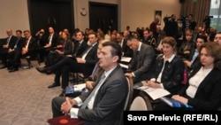 Učesnici panela u Podgorici