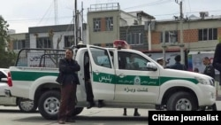 A police patrol vehicle in Iran, May 2018. File photo