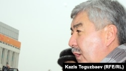 Генеральный секретарь ОСДП Амиржан Косанов. Алматы, 17 января 2012 года.