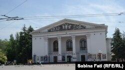 Mariupol, Ucraina 2016. Teatrul din oraș