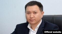 """Талант Абдуллаев, """"Инфоком"""" мамлекеттик ишканасынын жетекчиси."""
