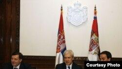 Boris Tadić sa liderima Srba iz regiona na prethodnom sastanku