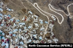 Aerial view of Balkhar village (file photo)