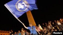 Прихильники «Грузинської мрії» святкують перемогу на виборах