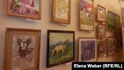 Выставка картин на экологическую тематику художников Карагандинской области. Караганда, 22 мая 2014 года.