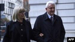 Ivica Todorić sa suprugom, London, 10. travnja 2018.