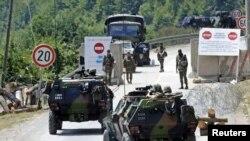 силите на КФОР стационирани на северот од Косово