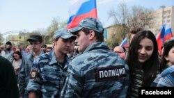 "Митинг ""Он нам не царь"" в Саратове 5 мая"