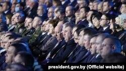 Дэлегаты «Ўсебеларускага сходу». 12 лютага