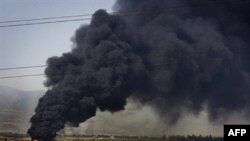 A fuel train tanker exploded near Gori on August 24