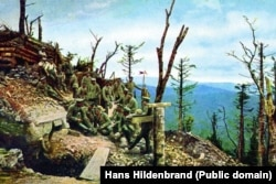 Хартманнсвиллеркопф, фотография Ханса Хильденбранда