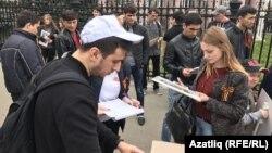 КНИТУ (КХТИ) студентларына фотосурәтләр тараталар