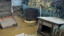 Жезқазғандағы су тасқынынан кейінгі жағдай. 30 қыркүйек 2012 жыл.