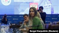 Ксения Собчак подает документы в ЦИК, 25 декабря 2017 года