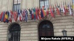 Pamje e Qendrës së Kongresit në Vjenë