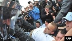 Столкновения в одном из районов Белфаста