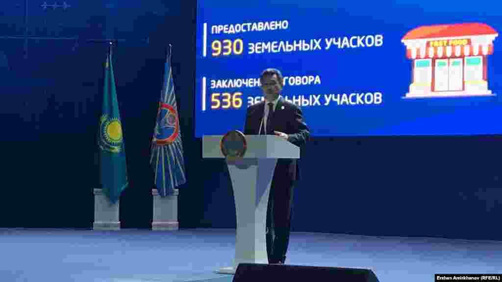 Астана қаласының әкімі Бақыт Сұлтанов
