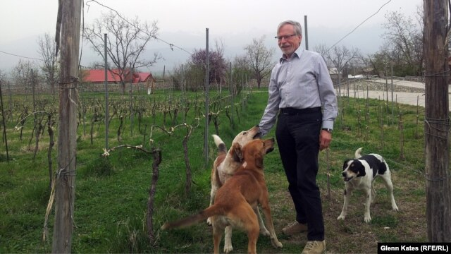 Burkhard Schuchmann opened a winery in Georgia because he thought he could compete outside of Russia by modernizing the industry.