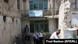 Un adăpost de la Kabul al Uniunii celor cu dizabilități din Afganistan