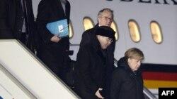 Самолет Ангелы Меркель приземлился во Внуково в 17.55 6 февраля 2015