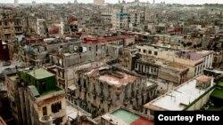 """Квартал старой """"новой"""" Гаваны. Это - престижное жилье здесь. Фото автора"""