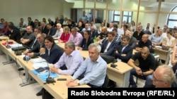 Почеток на судeњето за насилствата во Собранието на 27 април 2017