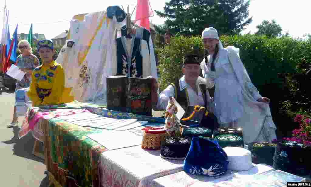 Татарлар Дружино авылы бәйрәмендә