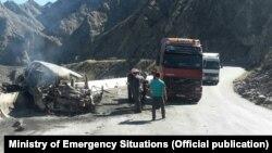 ДТП в Кара-Куле, унесшее жизни 5 человек. 8 октября 2017 года.