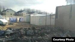 """После пожара в кафе """"Осьминог"""""""