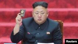Лидер КНДР Ким Чен Ын.