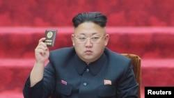 Udhëheqësi i Koresë së Veriut, Kim Jong-un.
