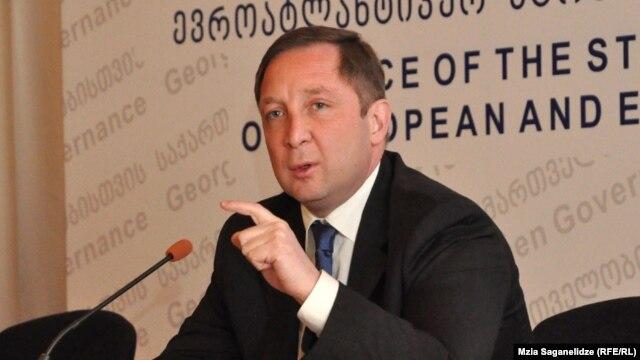 Georgian politician Aleksi Petriashvili