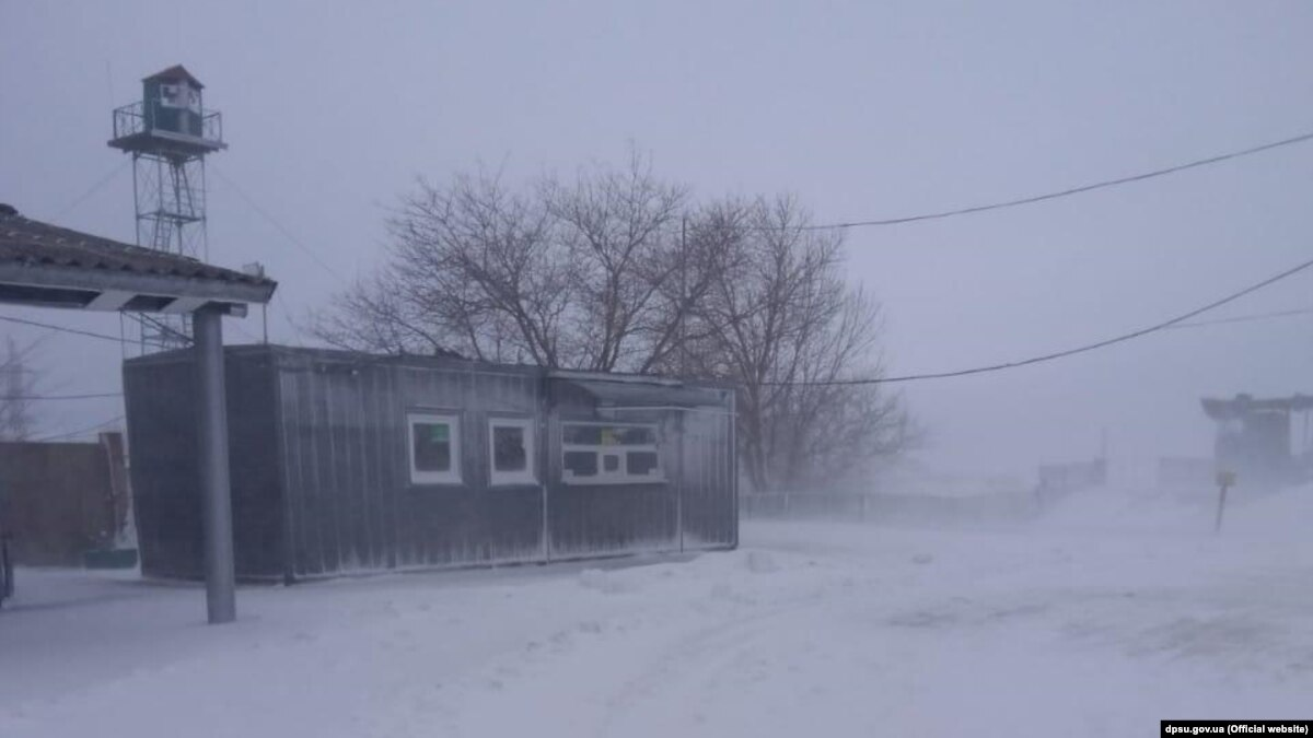 Непогода осложнила работу пунктов пропуска на украинско-молдавской границе – ГСЧС