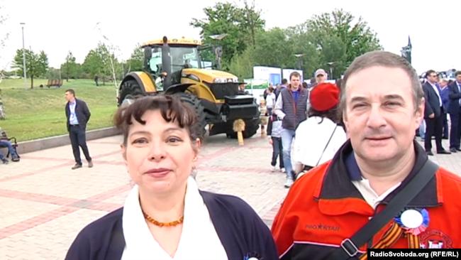 Подружжя з Донецька каже, що організували «застілля» на честь «свята»