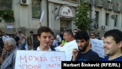 Sa protesta 30. maja