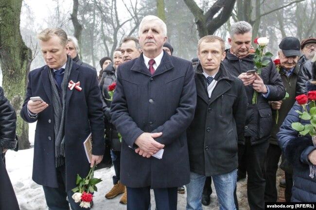 Рыгор Кастусёў запрасіў прысутных на канцэрт ля Опэрнага тэатру 25 сакавіка