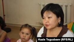 Жанара Балгабаева, координатор мини-центра для детей из малообеспеченных семей в Алатауском районе. Алматы, 14 февраля 2013 года.