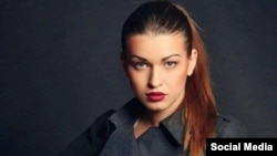 Украинская фотомодель Анна Дурицкая, свидетельница по делу об убийстве российского оппозиционного политика Бориса Немцова.