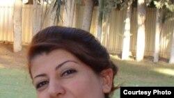 الممثلة العراقية هديل كامل
