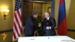Հայաստանը և ԱՄՆ-ը ստորագրեցին առևտրի և ներդրումների մասին համաձայնագիր